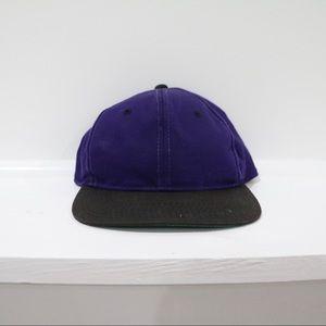 Purple and Black SnapBack